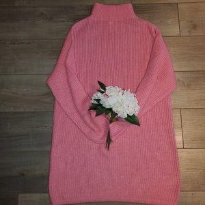 H&M oversized sweater dress.S. never worn